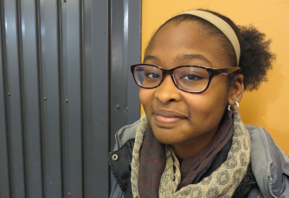 """Leija Farr, Seattle's new youth poet laureate, calls poetry a form of """"self-healing."""""""