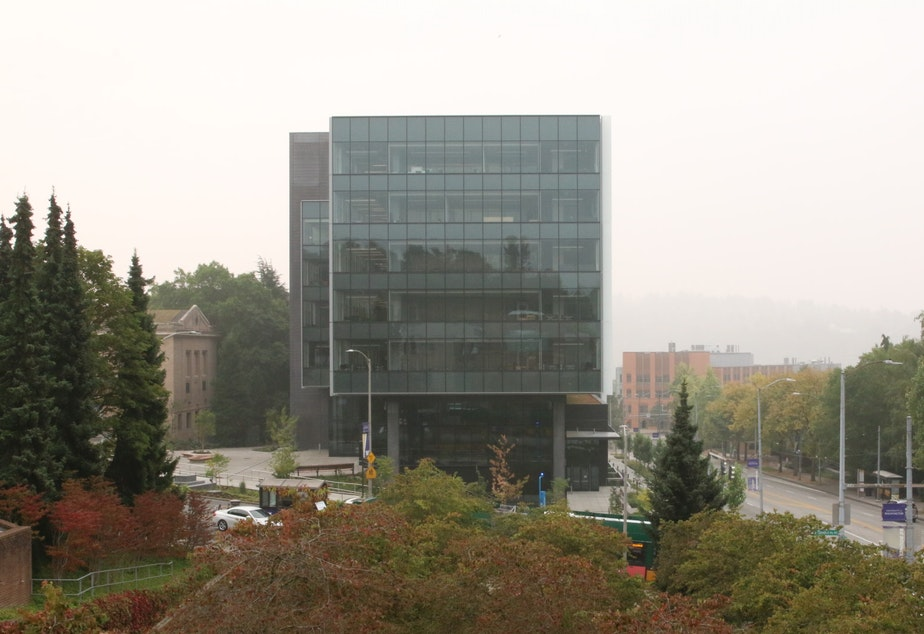 caption: The Hans Rosling Center for Population Health at the University of Washington