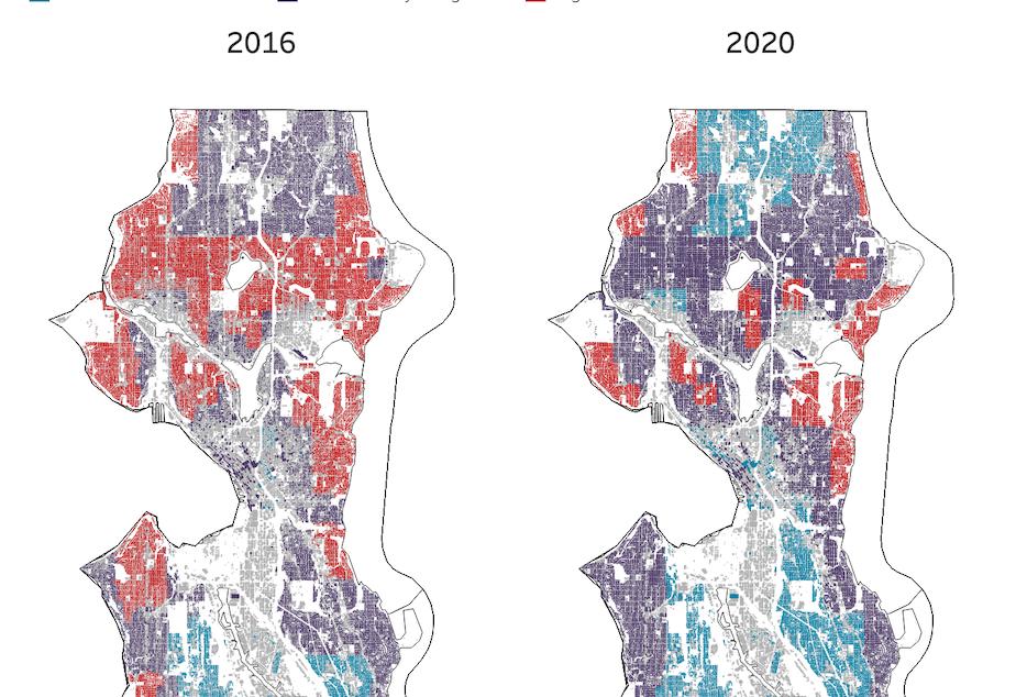 Seattle 2016 V 2020