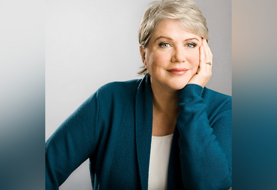 Comedian Julia Sweeney, formerly of Saturday Night Live.