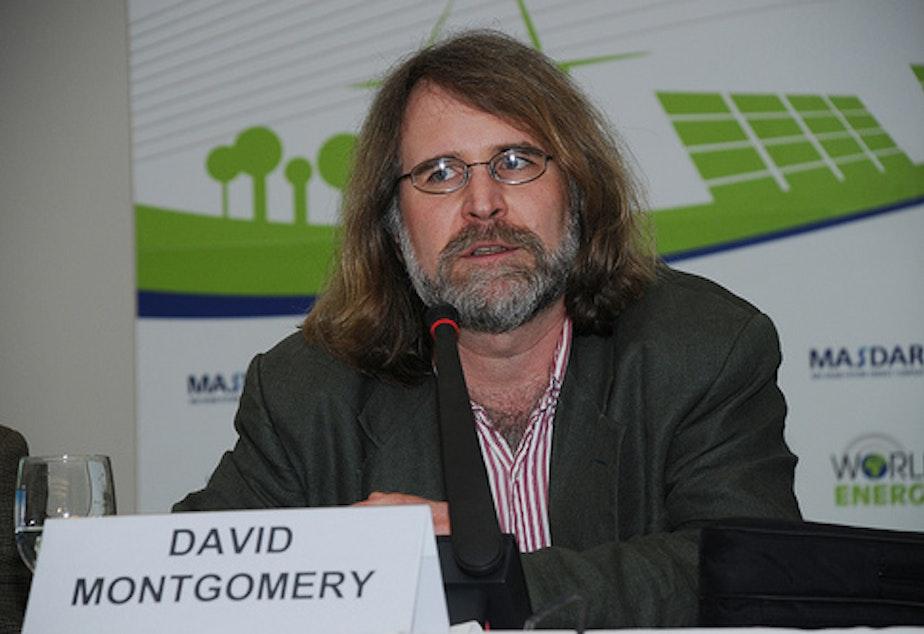 UW Professor David Montgomery says he'll march for science