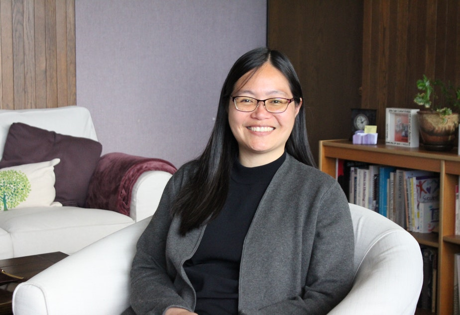 caption: Natasha Foo Kune is the director of counseling at the University of Washington Seattle campus.