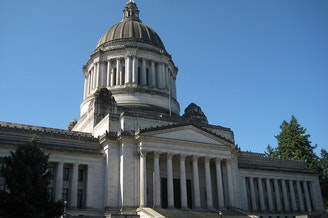 The Washington state capitol