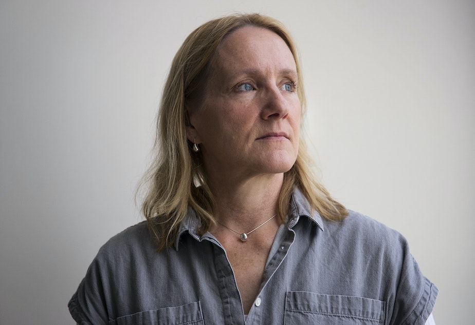 caption: Josephine Ensign, director of the University of Washington's Doorway Project for homeless youth