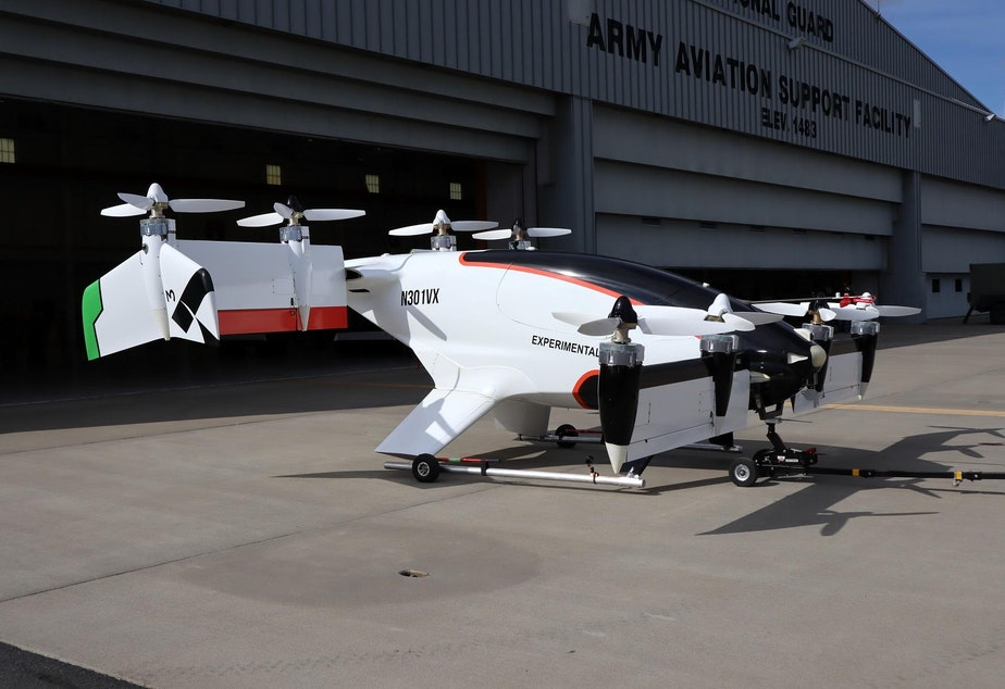 The self-flying Vahana air taxi has completed 114 flight tests at the Eastern Oregon Regional Airport in Pendleton.