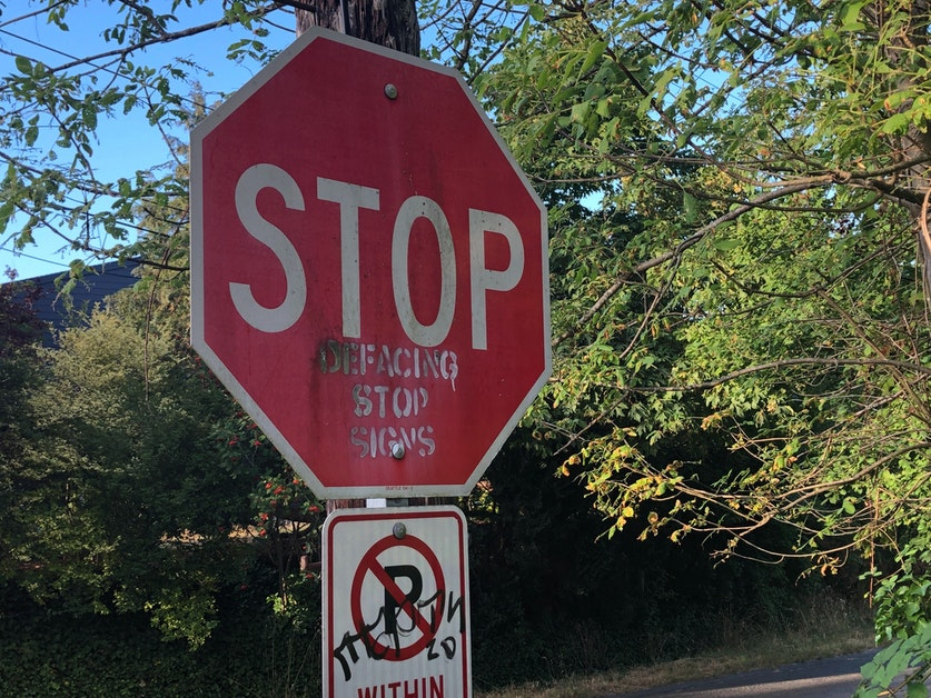 Kuow No More Stop Signs For Washington S Bike Riders Sort Of