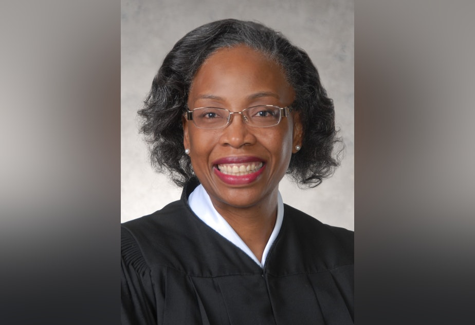 caption: Pierce County Superior Court Judge Helen Whitener has been appointed to an open seat on the Washington Supreme Court.