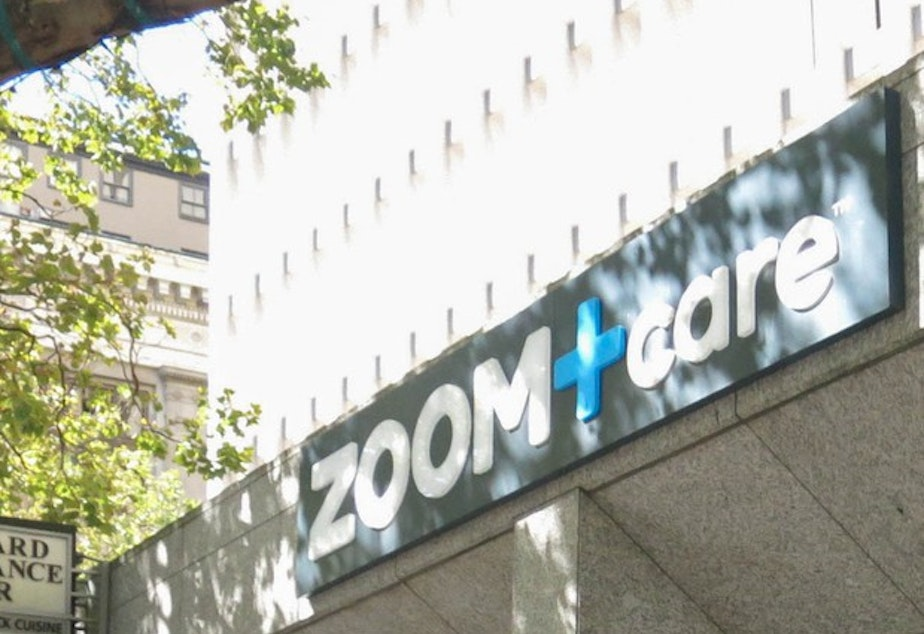 <p>The front of a Zoom+Care facility in Portland.</p>