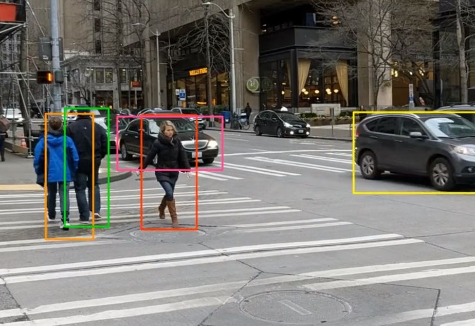 At Mighty AI, humans have taught AI systems to distinguish pedestrians from other objects, so that self driving cars can avoid them.
