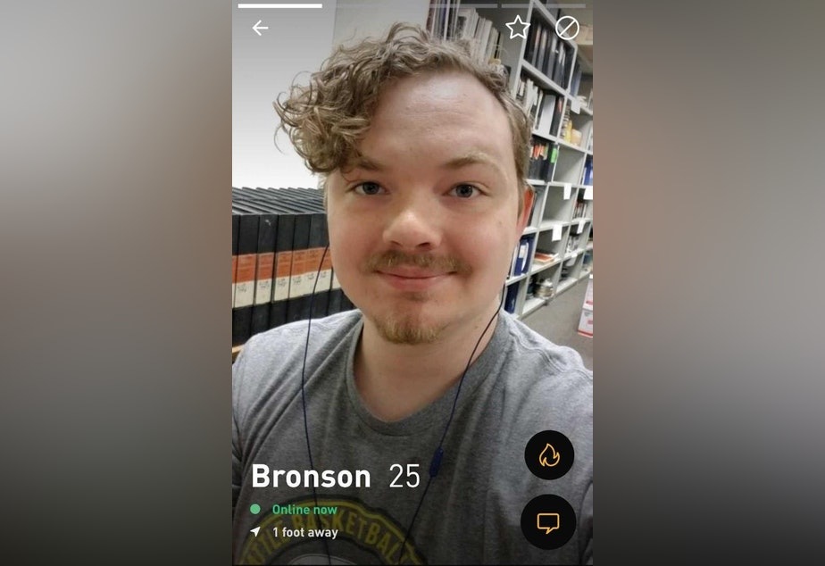 Bronson Dowd was looking for love on Grindr, and instead he found an attack ad