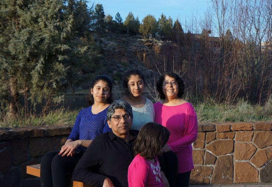 caption: The Ali family.
