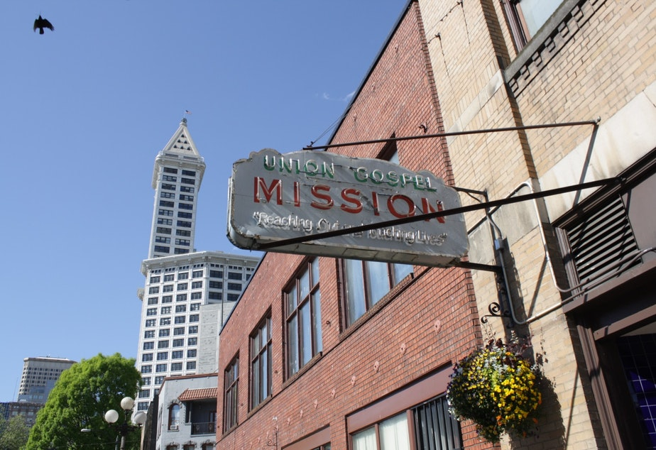 The Union Gospel Mission works with Operation Nightwatch to fill up its spare beds at the end of the night.