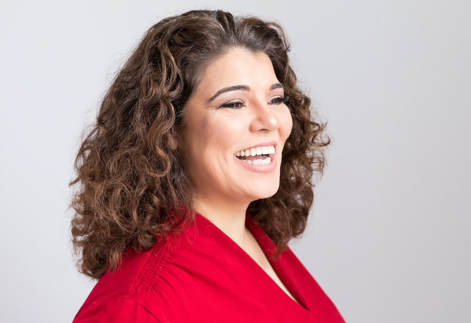 caption: Celeste Headlee talks about how freelancing has given her control over her schedule, insight into her own work habits, and the freedom to take risks.