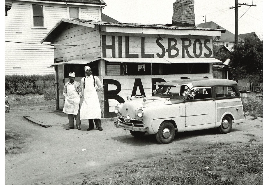 Robert L. Hills and his brother Zeb owned the Hill Brothers BBQ in the Central District, featuring, according to 'Seattle on the Spot,' sweet potato pie, spicy sauce on smoked ribs and white bread and butter through the 1990s.