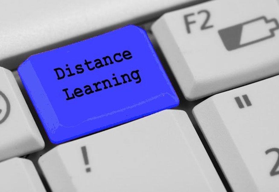 caption: Distance Learning