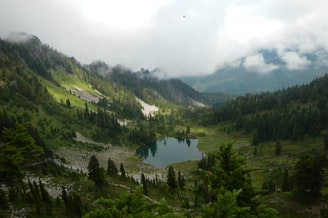 Seven Lakes Basin in Olympic National Park.