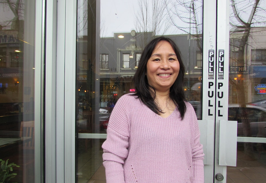 Restaurant owner Thuy Tran said she's closing because she lost her rental space in the U District.