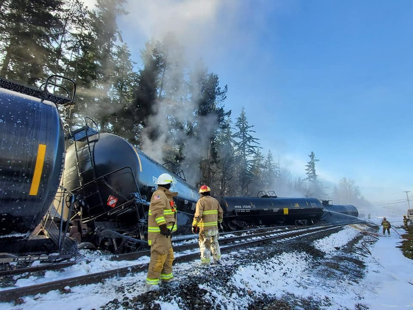 Sabotage caused Washington oil-train disaster, rail union says
