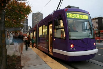 The Seattle streetcar: About 5,000 people a day use the South Lake Union and First Hill lines. That's about the same as two years ago.