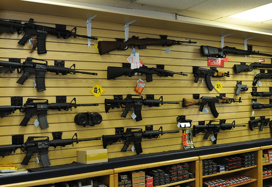 Initiative 1639 would raise the minimum age required to buy a military-style rifle to 21.