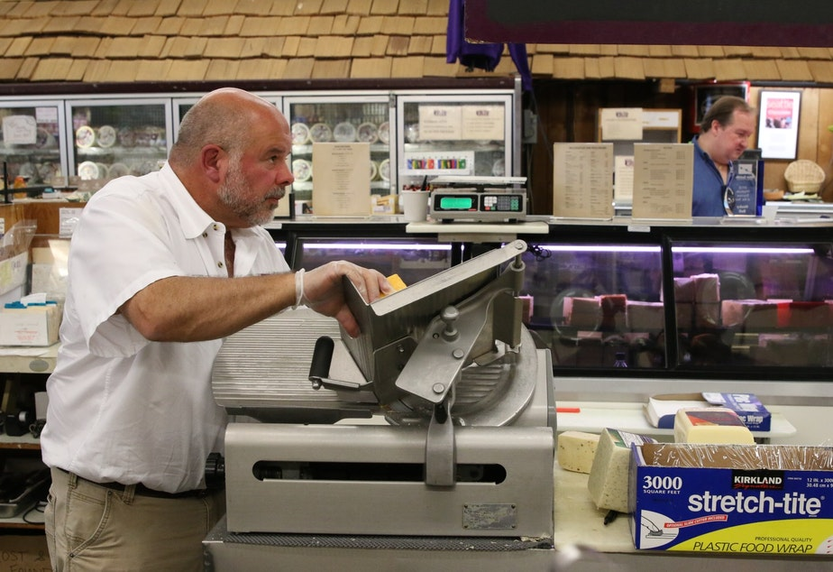 Jack Miller runs the Husky Deli in West Seattle. His family has owned it since 1932.