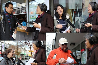 """KUOW reporter Deborah Wang asked Washingtonians if they believe they have an accent. They said no. But they also pronounced """"caught"""" and """"cot"""" the same way -- one of the subtle distinctions of this region's accent."""