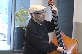 Jazz bassist Buddy Catlett.