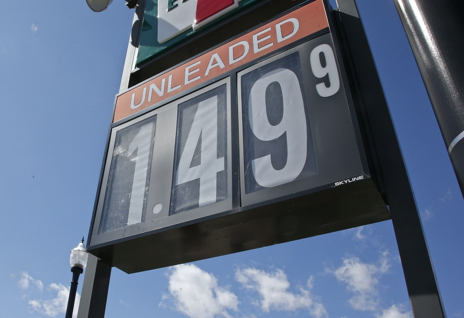 caption: Drivers are paying less than $1.99 at more than two-thirds of the gas stations in the country,  according to AAA.