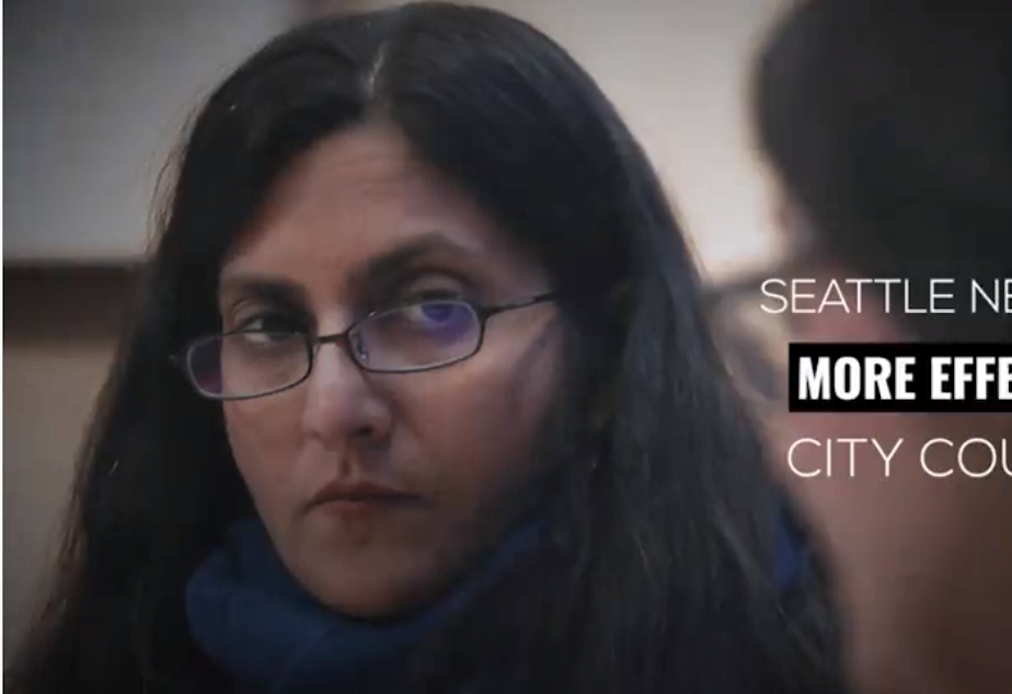 People for Seattle attack ad featuring Ksama Sawant that's targeting City Council District 4 (she represents District 3)