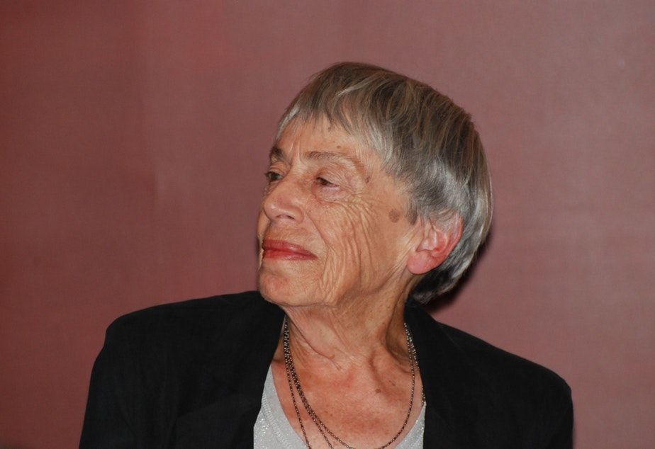 The writer Ursula K. Le Guin in 2012.