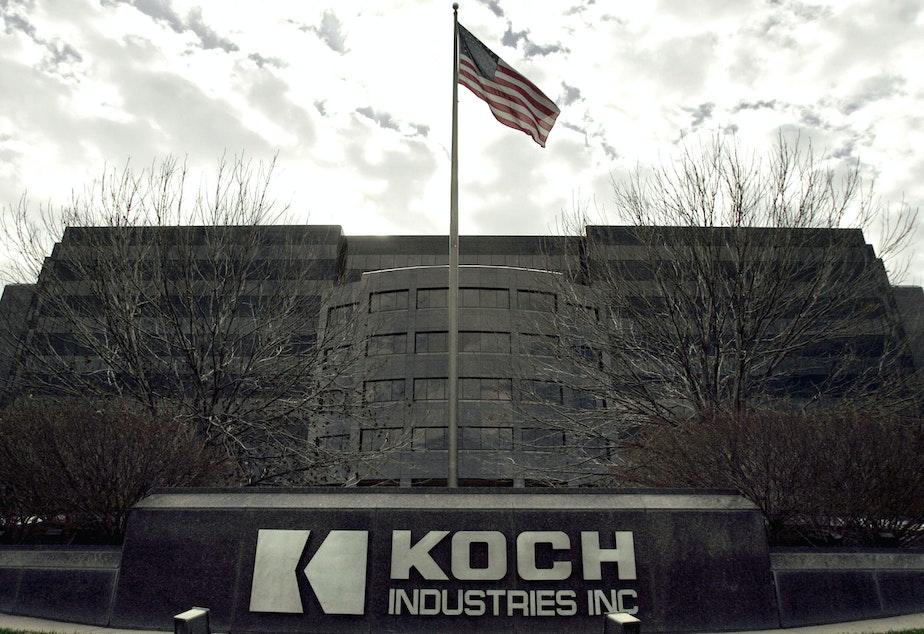 Koch Industries Inc. headquarters is pictured in Wichita, Kansas, on Nov. 14, 2005.