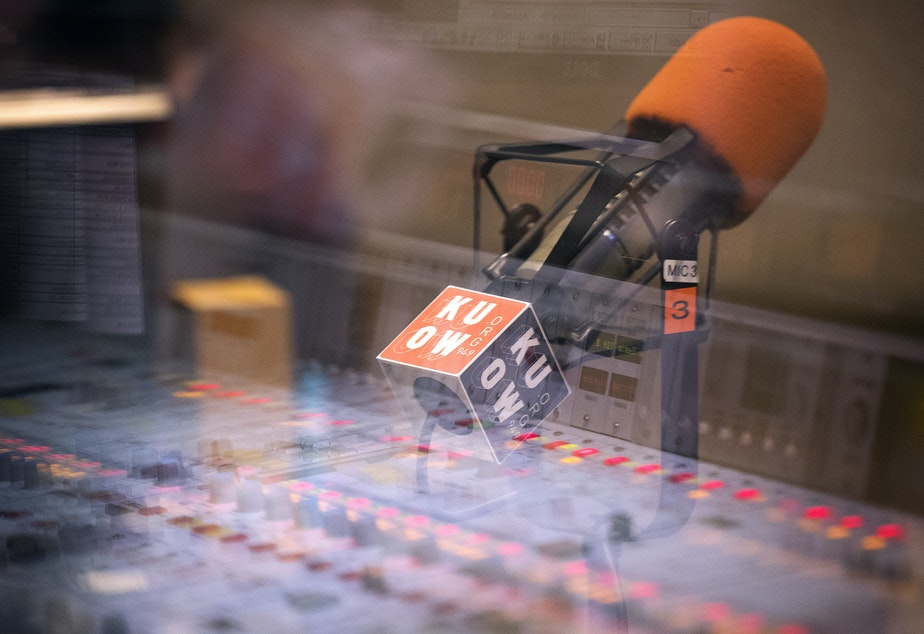 caption: KUOW studios