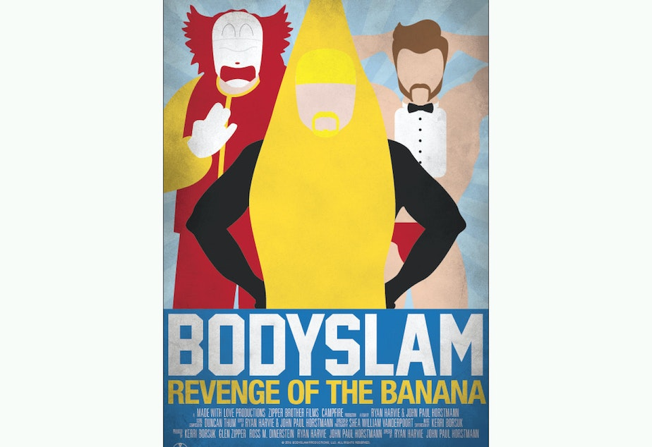 """The poster for """"Bodyslam"""""""