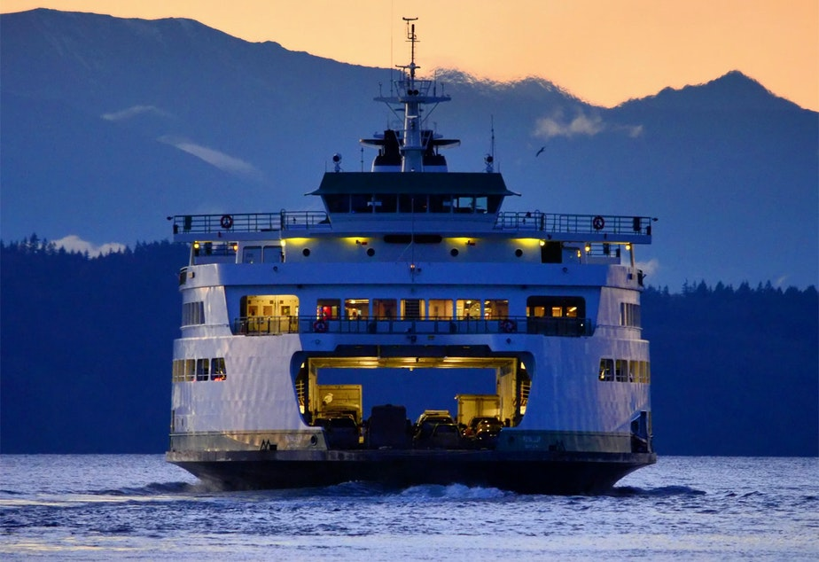 MV Puyallup is one of the biggest ferries in the fleet.