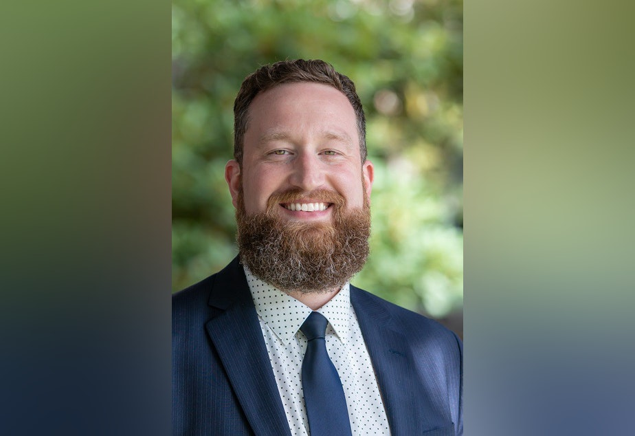 caption: Washington state's 2019 Teacher of the Year, Robert Hand.