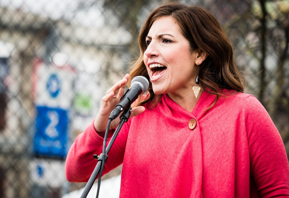 caption: Seattle City Councilmember Teresa Mosqueda.