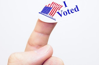 This individual voted. Have you?