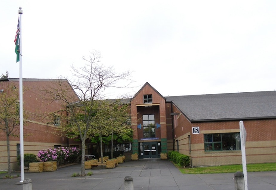 West Seattle Elementary School doesn't have scheduled recess. Rather, teachers can take students out as it works for their schedules.