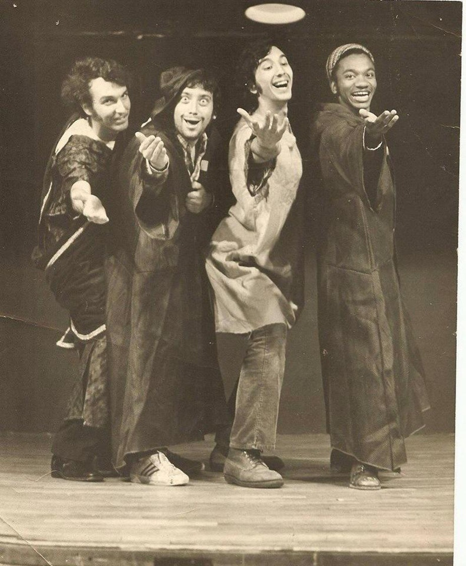"""A Funny Thing Happened on the Way to the Forum"" 1973, Tufts University"
