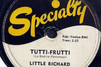 You may know the lyrics to the Little Richard song as, 'Trutti Frutti, Oh Rutti' but the original lyrics were 'Trutti Frutti, Good Booty.'