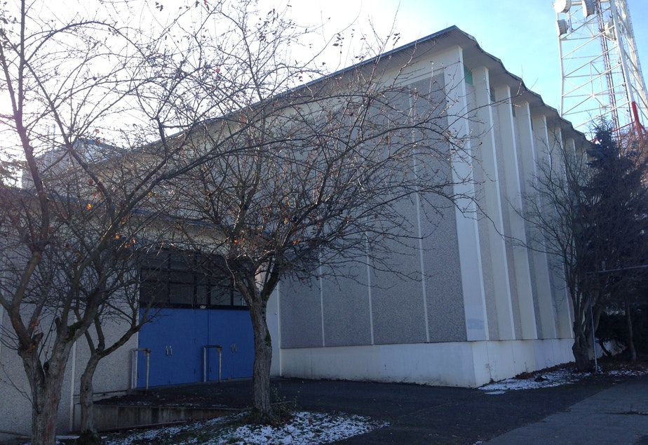 The new Recovery School is moving into the former Queen Anne High School gymnasium building.