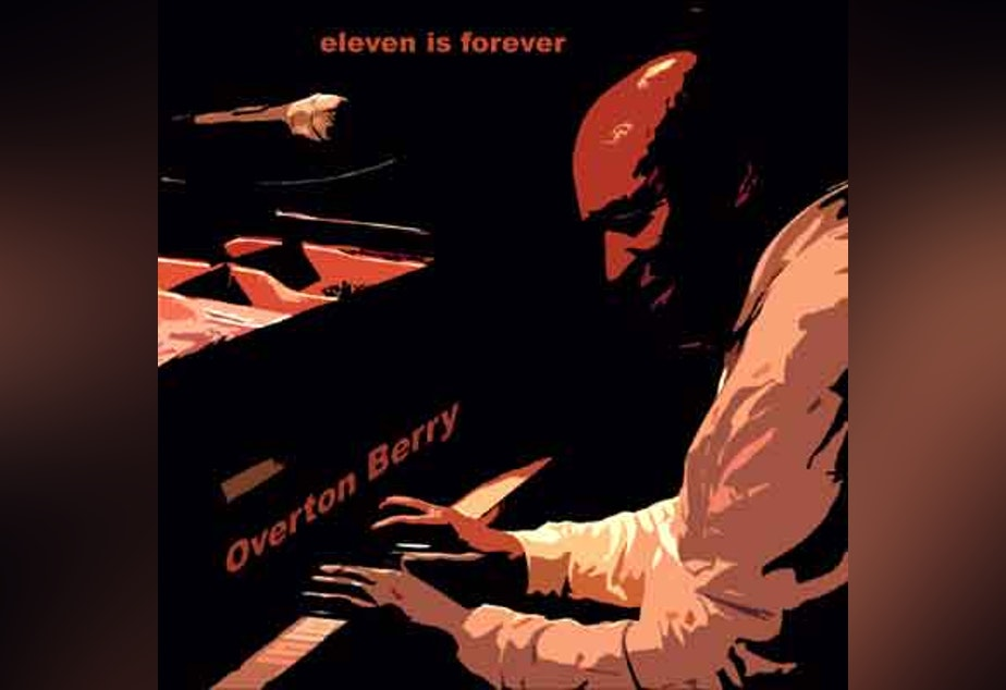"""caption: Cover art for Overton Berry's """"Eleven Is Forever"""" album."""
