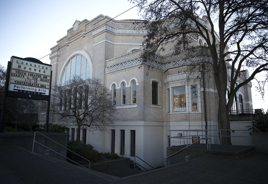 The Langston Hughes Performing Arts Institute is shown on Wednesday, January 3, 2018, in Seattle.