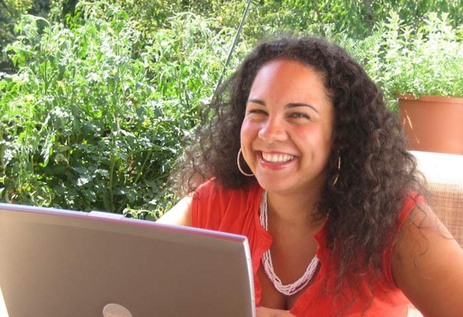 caption: Professor Ralina Joseph at the University of Washington says to just start talking about race.