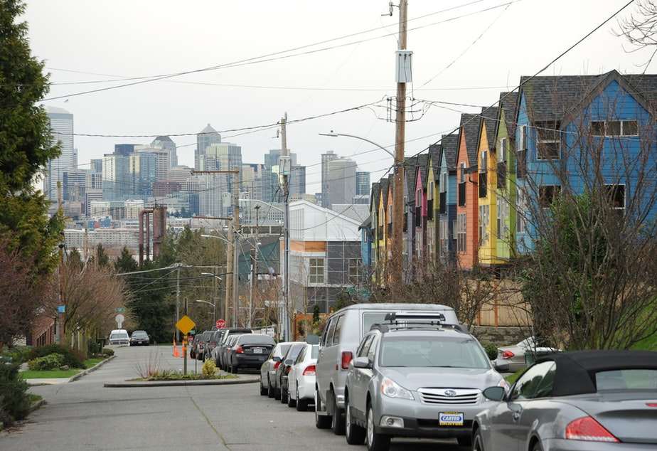caption: Wallingford, a neighborhood in north Seattle.