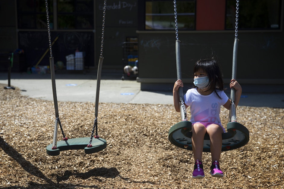 Tiny masks: Reopening a Seattle daycare center during Covid