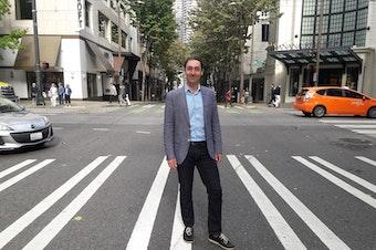 Dallas Gislason, Director of Economic Development for South Vancouver's economic development authority, InvestVictoria