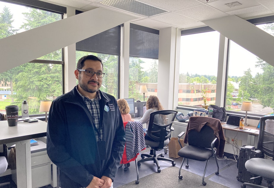 caption:  Joe Avalos of Olympic Health and Recovery Services says Washington's new police use of force law is making officers reluctant to assist with detaining people who have be found to meet the criteria for involuntary mental health treatment.