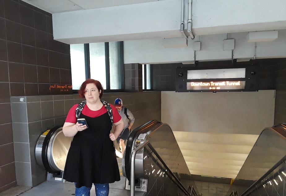 KUOW - Yes, light rail station escalators do break a lot
