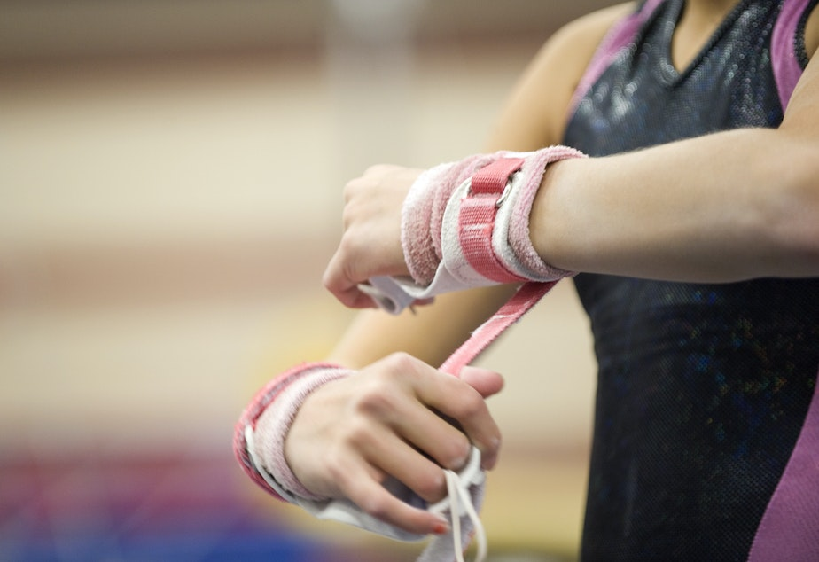 "USA Gymnastics says filing for bankruptcy gives it ""the opportunity to reorganize."""